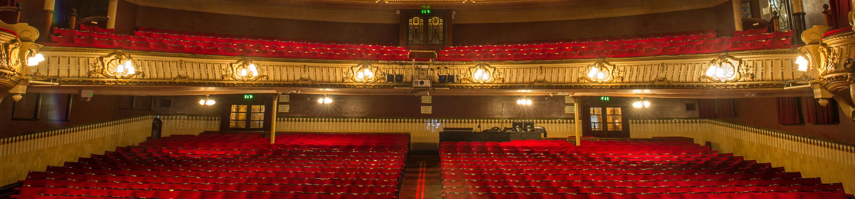inside a theatre